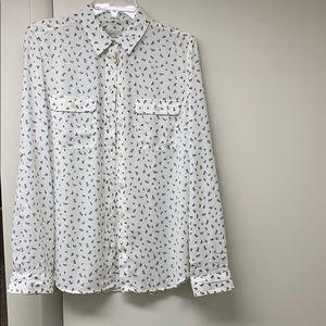 Women's Loft Med dress shirt